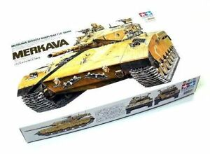Tamiya-Military-Model-1-35-MERAVA-Israeli-Main-Battle-Tank-Scale-Hobby-35127