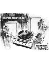 Harman Kardon Sc3 Music System Owners Instruction Manual