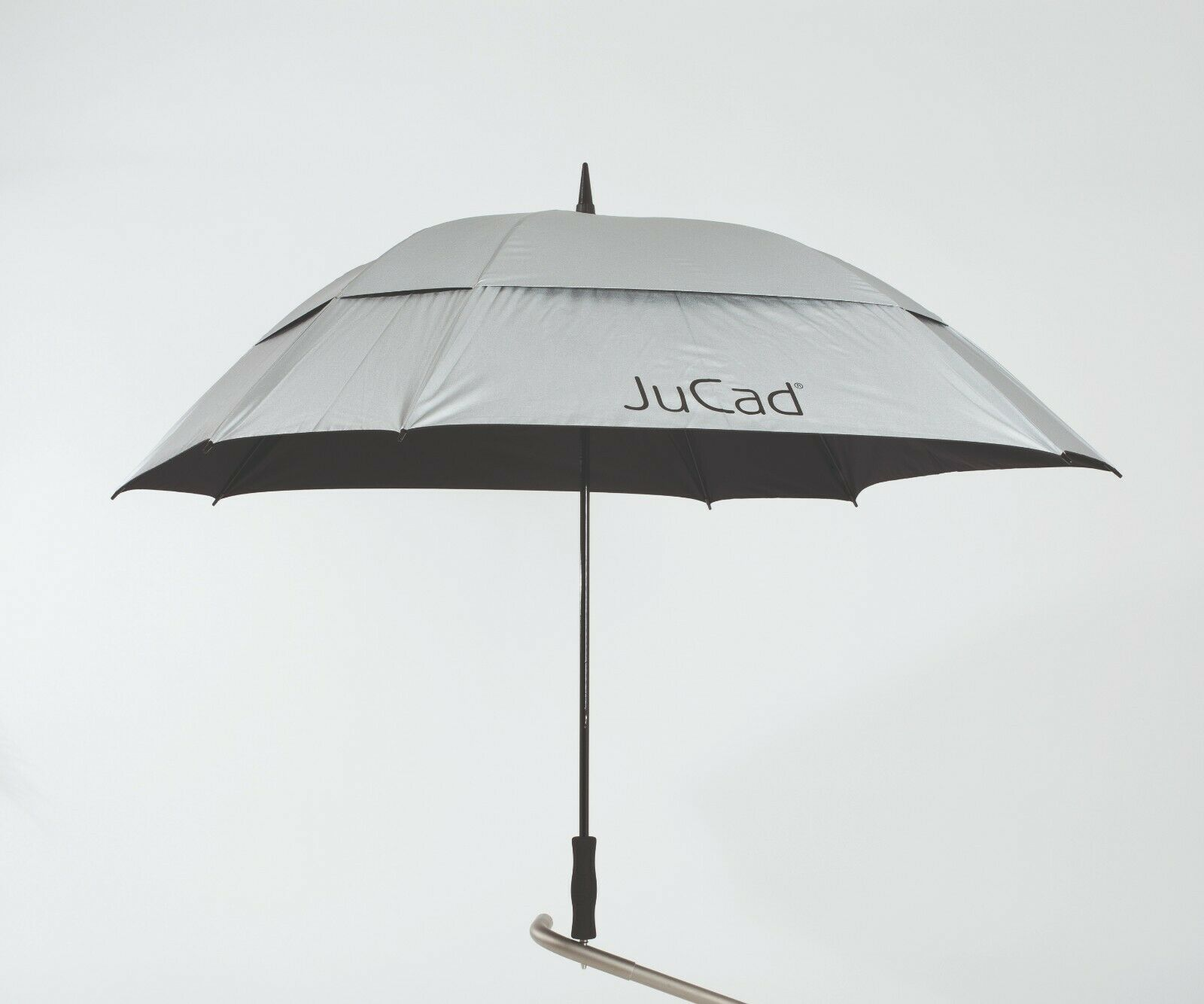 Jucad ® paraguas windproof  plata nuevo VK  95,-  salida