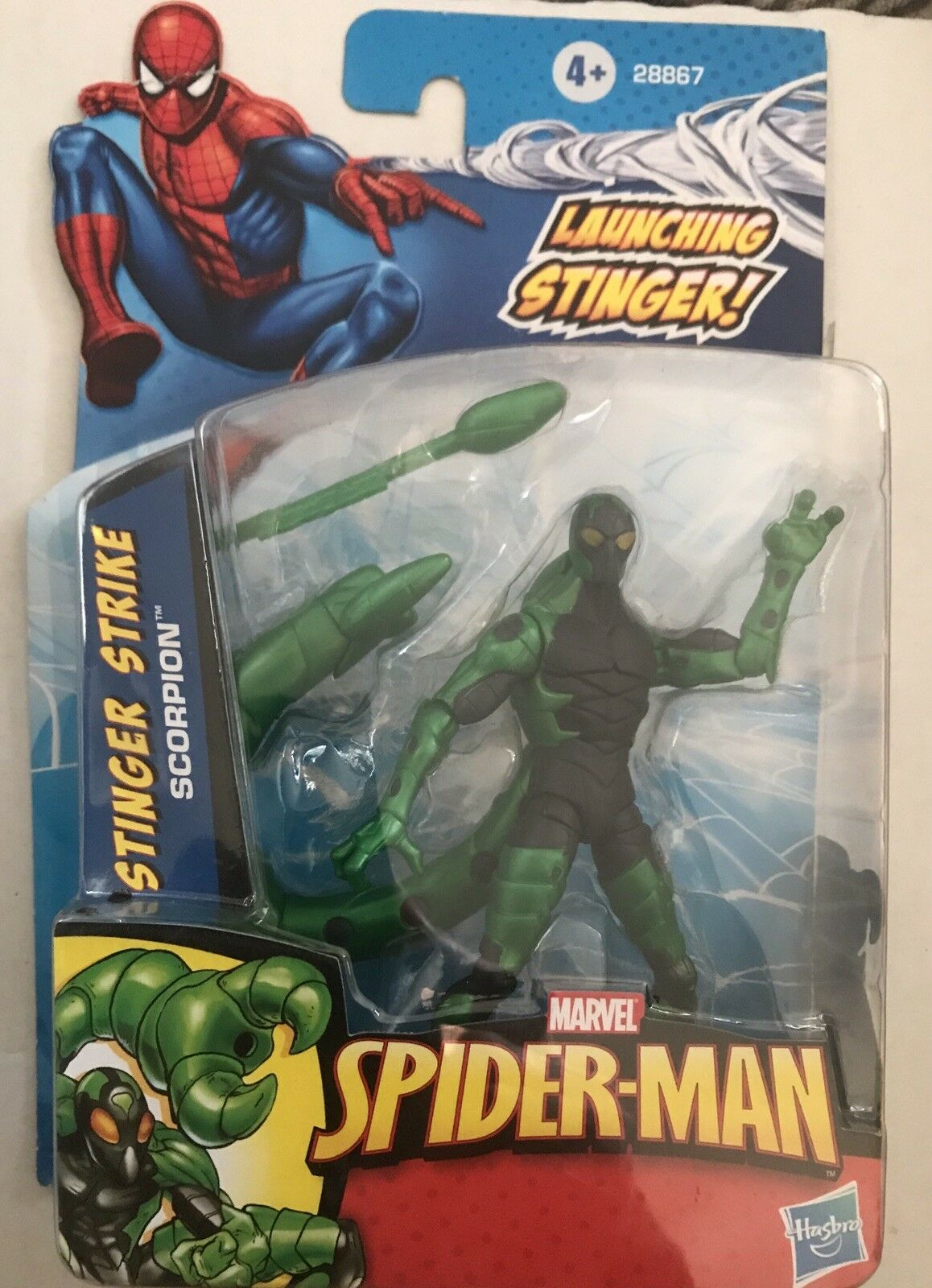 Spider-Man Action Figure of STINGER STRIKE SCORPION From  Spider-Man Series