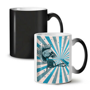 Funk Music Skeleton NEW Colour Changing Tea Coffee Mug 11 oz   Wellcoda