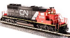 Broadway Limited n EMD SD40-2,  5937 nacional canadiense Paragon 3 Sonido Dc dcc 3708