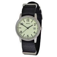 Aristo U-boot 3h27tsw Unisex Quarz Armbanduhr 10atm Textilarmband Swiss Movement