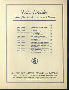 Fritz-Kreisler-Liebesleid
