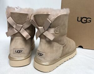 ugg bailey button metallic