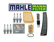 BMW E46 3-Series Complete oem  Filter Set Oil-Air-Gas /& Charcoal Cabin Filter
