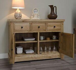 Grandeur Solid Oak Furniture Small Living Dining Room Sideboard EBay