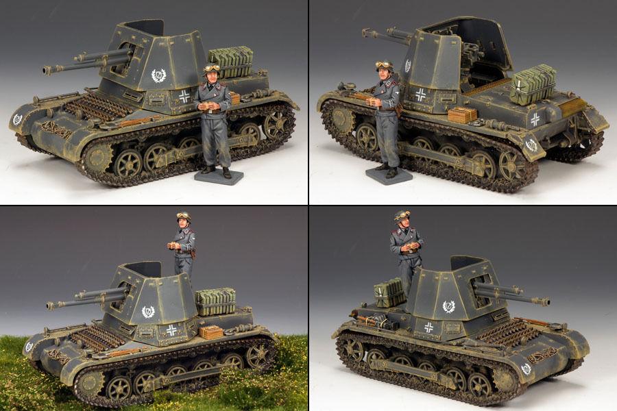 KING AND COUNTRY Panzerjager 1 LAH149