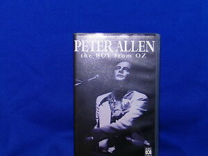 PETER-ALLEN-THE-BOY-FROM-OZ-VHS-TAPE