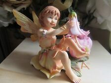 Faerie Glen Fae Realm NAIL POLISH Fairy Figurine by Munro Make-up Collection!