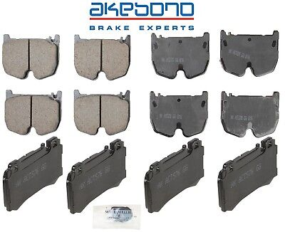 For Front Brake Pad Set Genuine 003420712041 for Mercedes-Benz C215 W220