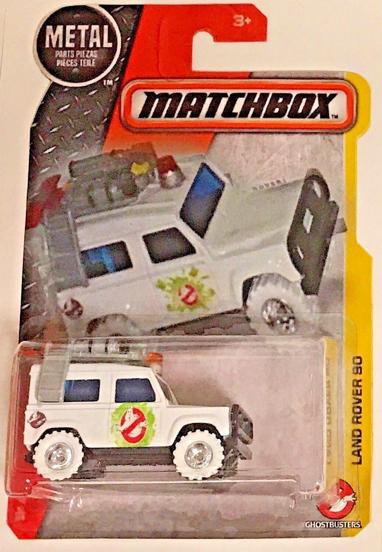 Matchbox Personalizado Ecto Land Rover 90 Ghosbusters Edición Edición Edición Limitada 86d9d8