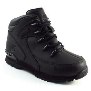 suma Poderoso Relativo  Timberland Kids Euro Rock Hiker Toddler Boots Black (6489r) | eBay