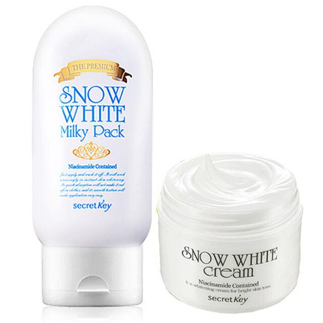 [SECRET KEY] Snow White Milky Pack The Premium + Snow White Cream/