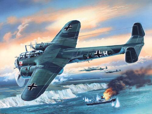 WWII German Bomber Neu ICM 48244-1:48 Do 17Z-2