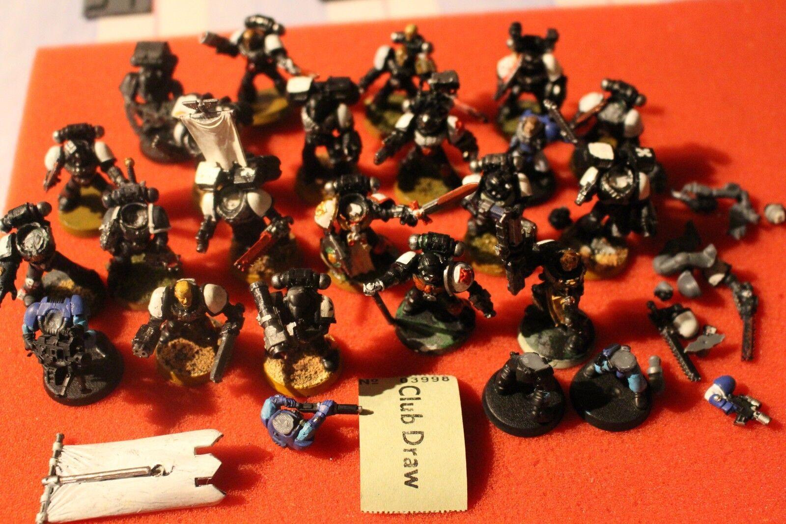 Spiele warhammer 40k space marines  corvus beakies taktische marines armee