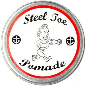 STEEL TOE POMADE Grease Wax Styling  - Made in USA  - J. Hillhouse & Co.