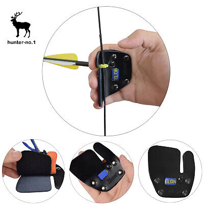 Archery Finger Tabs Finger Protector Tab Archery Recurve Bow Right Hand Pack 1