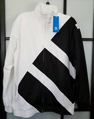 Adidas EQT BOLD TT TRACK TOP JACKET WhiteBlack Men's Size L Large | eBay