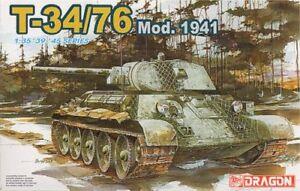 Dragon 1/35 T-34/76 Model 1941 # 6205