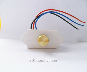 Controller Switch Pwm Dc Motor Speed Control 6a Amp 12 24v