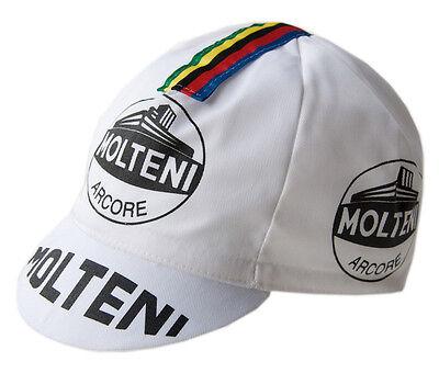 Retro Italian Made Vintage Team Cycling Cotton Cap Vintage Eroica Molteni KAS