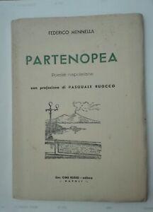 PARTENOPEA-Poesie-Napoletane-di-F-Mennella-con-prefazione-di-Ruocco