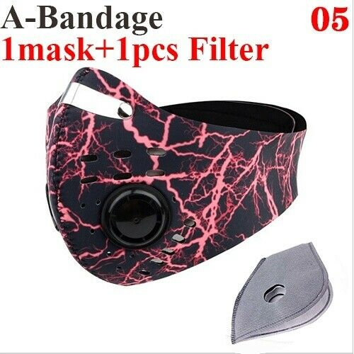 PM2.5 Reusable mask Activated Carbon Cycling Anti-Pollution Bicycle with Filter