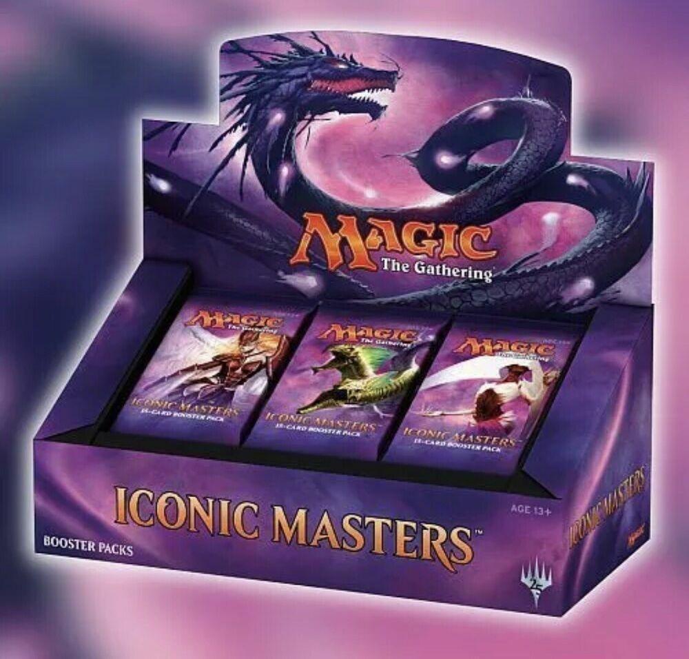 New, Sealed MTG  Iconic Masters Booster Box  w  Free Ship  Magic the Gathering