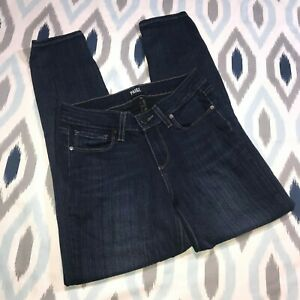 Paige 26 Wash Dark Skinny Crop Denim Cameron Maat Rise Verdugo Jean In Low 8n0OPkNXw