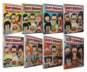 Bob-039-s-Burgers-The-Complete-Seasons-1-8-DVD-22-Disc-Set-1-2-3-4-5-6-7-8-New
