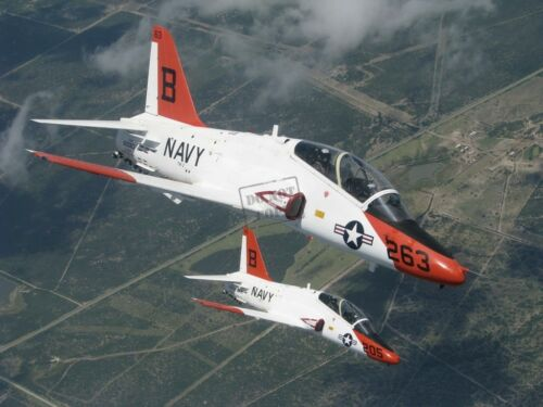 US Navy USN T-45A Goshawks training aircraft A2 8X12 PHOTOGRAPH
