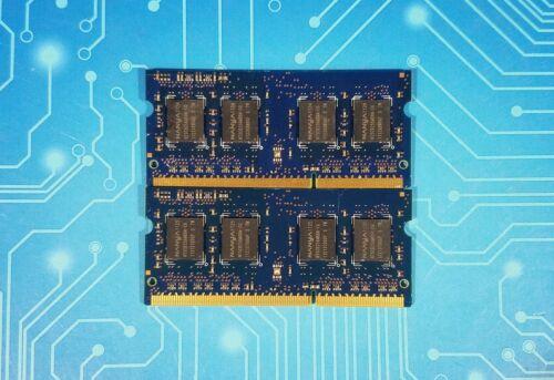 2x2GB 4GB PC3-10600s DDR3-1333MHz Non-ECC 1Rx8 Nanya NT2GC64B88B0NS-CG