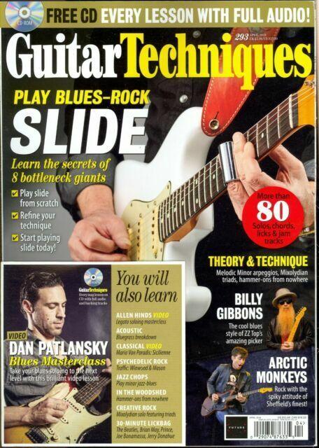 February 2013 Guitar Techniques magazine /& CD