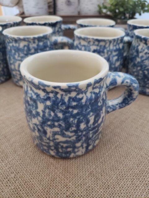 Gerald Henn Blue Spongwear 10oz Coffer Mugs / 9 Avaliable