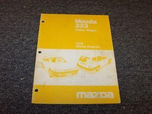 1988 Mazda 323 Station Wagon Factory Original Electrical ...