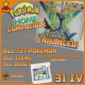 Unlocked-Pokemon-X-All-721-Shiny-amp-items-All-721-Shiny-Pokemon-Pokemon-Home