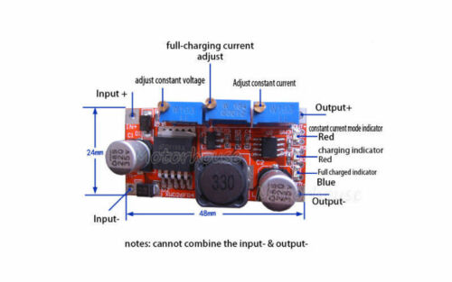 Courant Direct Courant Constant Buck Step Down Converter DEL Driver Batterie Chargeur 5 V 12 V