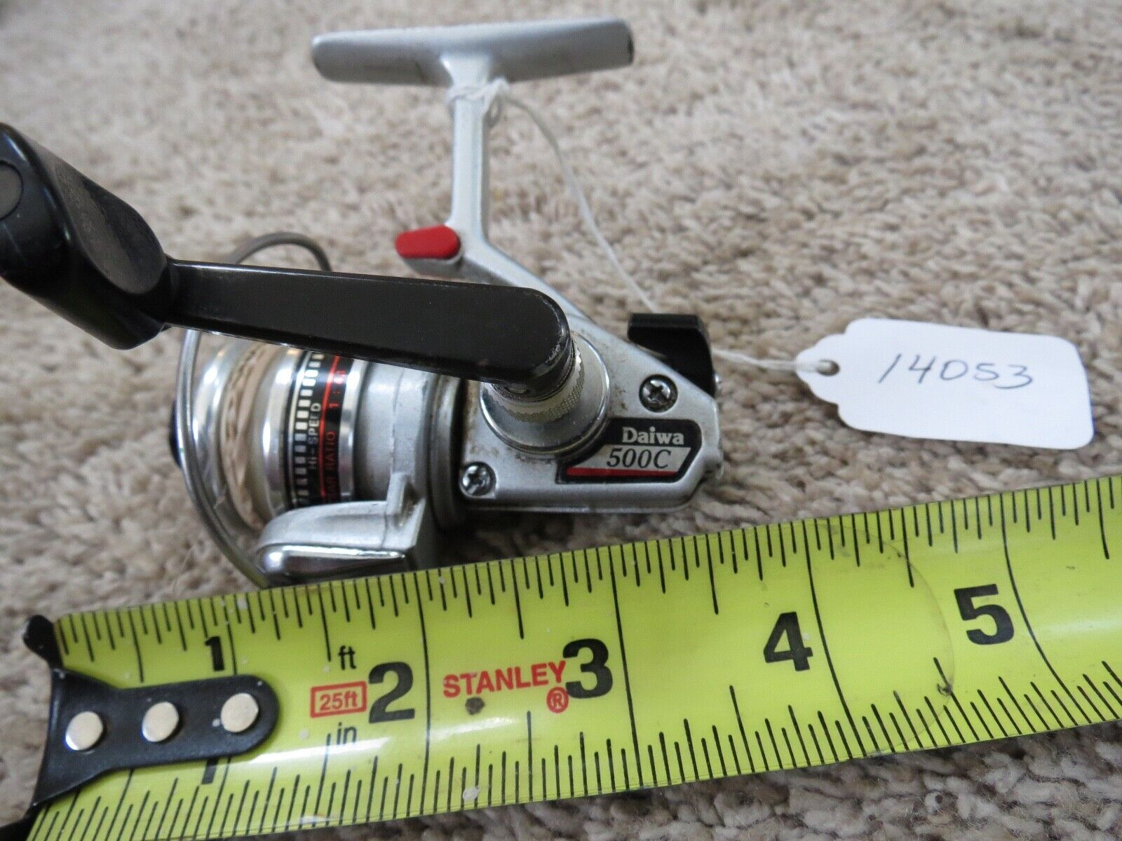 Daiwa 500c trout pesca reel fatto in Japan Lot 14053