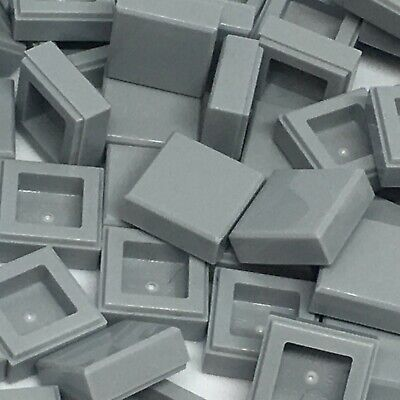 LEGO WHITE TILE 1X1 PART NUMBER 3070b PACK OF 25