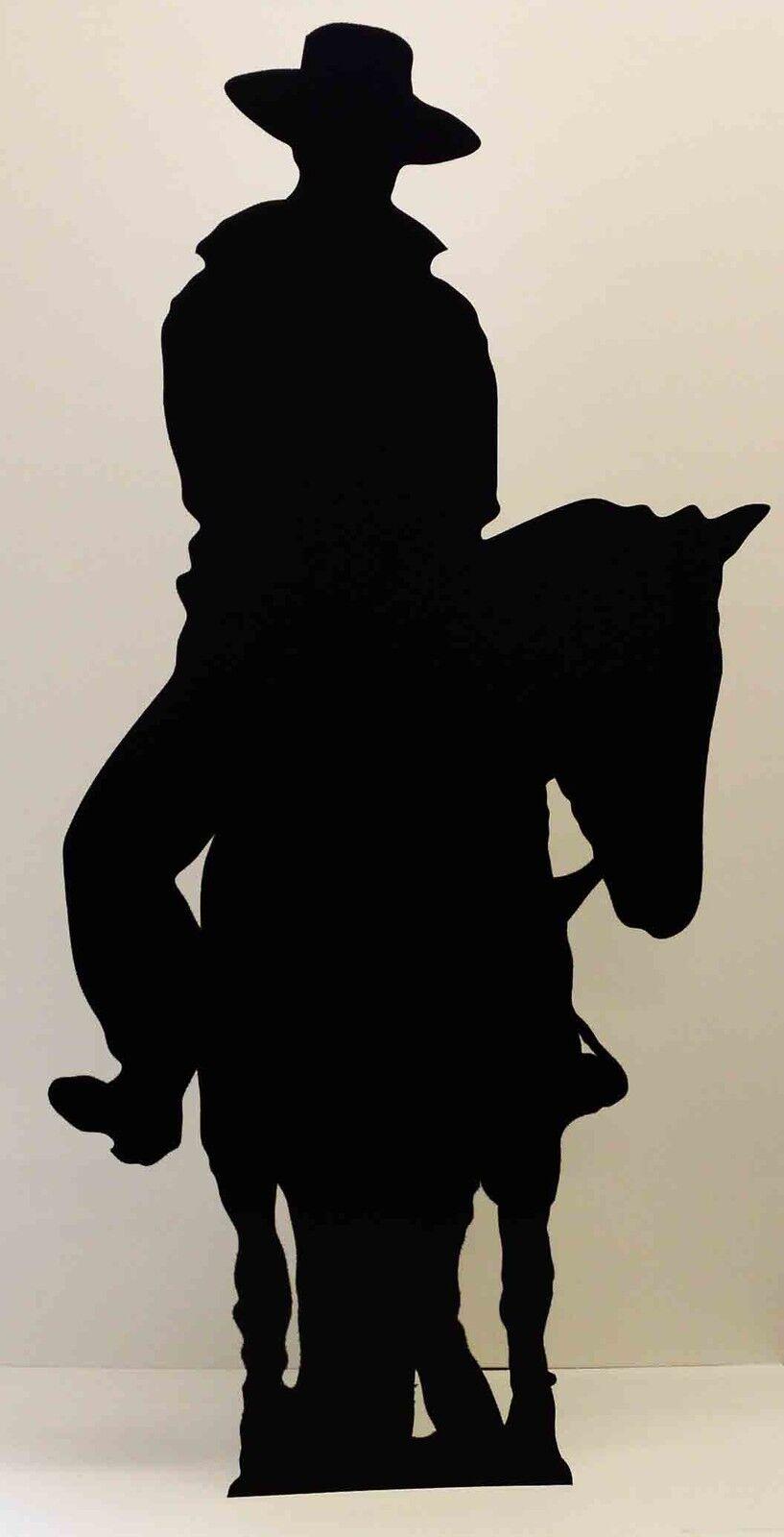 Cowboy auf auf auf einem Pferd Silhouette Wilder Westen Western Pappfigur | Gewinnen Sie hoch geschätzt  | Moderne Technologie  f482e0