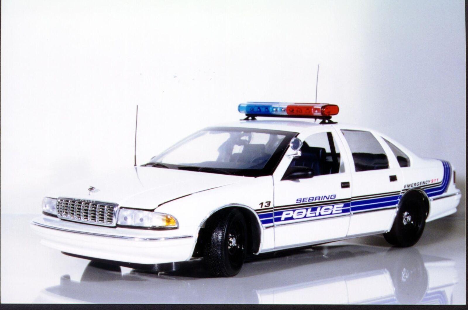 UT modelos Chevy Caprice SEBRING, Florida PD policía