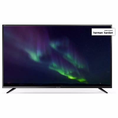 Sharp LC-49CUG8062E Tv 49'' Led 4k Smart TV Netfix 400hz audio Harman Kardon
