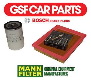 Service-kit-huile-filtres-a-air-amp-bougie-allumage-ford-fiesta-v-1-3-1-6-16V