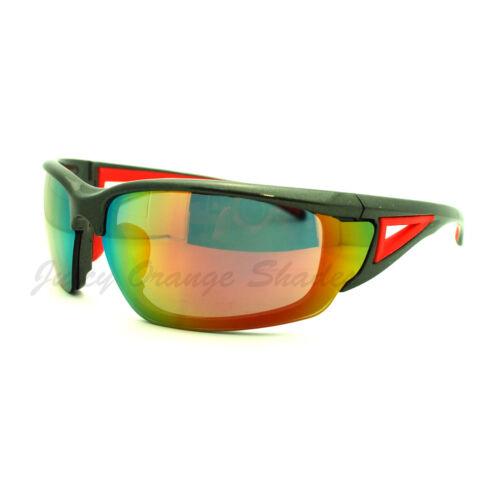 Mens Outdoor Sports Fashion Sunglasses Half Rim Style