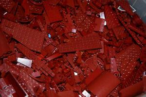 1-100-POUNDS-Dark-Red-LEGOS-Mix-bulk-lot-lbs-city-Parts-Pieces-Bricks