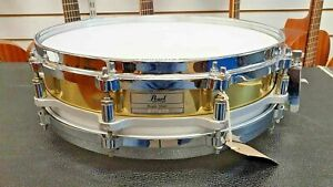 Pearl-14x3-5-Free-Floating-Brass-Piccolo-Snare-Drum