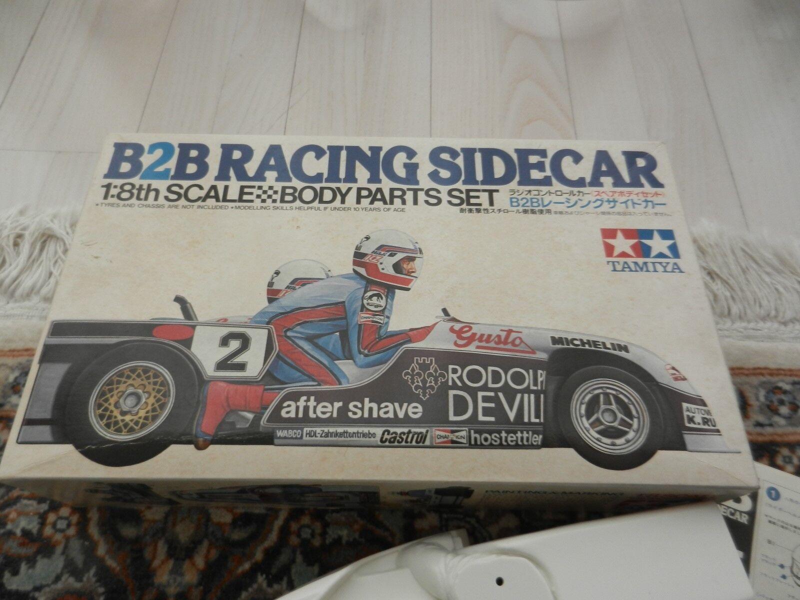 Rare Tamiya B2B Racing Sidecar 58017 vintage body set NIB NOS - 1979