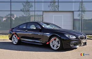 Nuevo-Original-BMW-6-F12-F13-M-paquete-Sport-Lado-Falda-Embellecedor-umbral-izquierda-derecha