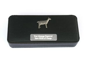 Appris Goat Black Ball Point Pens In Gift Case Free Engraving Wildlife Gift 153